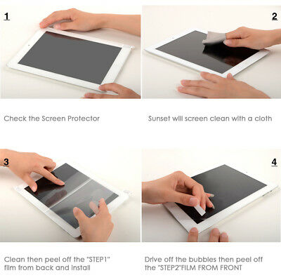 """Premium Clear Screen feel like a Paper Protector for iPad Pro 12.9""""(2018) 3Pcs 9"""