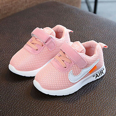 Kids Baby Infants Trainers Shoes Boys Girls Sport Running Toddler Shock Air Size 6
