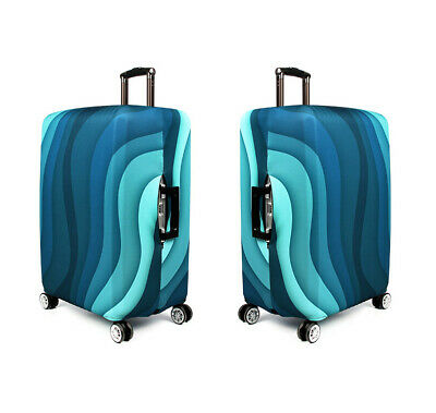 """18""""-32"""" Travel Suitcase Luggage Cover Protector Elastic Anti-scratch Dustproof 7"""