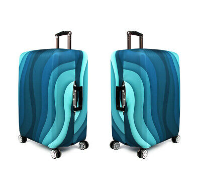 "18""-32"" Anti Scratch Luggage Cover Suitcase Trolley Case Elastic Skin Protector 7"