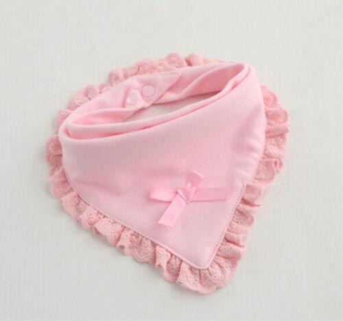 Newborn Toddler Cotton Baby Bibs Boy Girl Saliva Towel Kids Bib Feeding 2