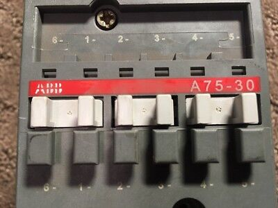 ABB GAE75-10 Contactor with 2 ABB CAL5-11 Auxiliary Contact