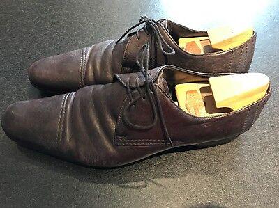 5 T9 Avec Cuir Chaussures Brunes Homme Embauchoirs Premiata En eYbWD2H9EI