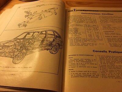Simca 1307 GLS et S 1308 GT 1309 SX Revue Technique Automobile RTA 5