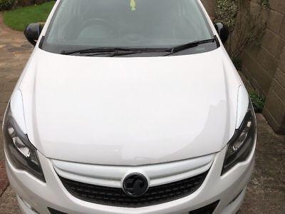 Vauxhall corsa D Headlamp eyebrows eyelids spoilers VXR Artic 3