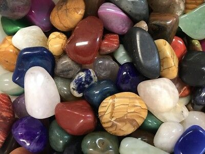 "1kg Bulk Crystal Tumble Stone Mix ""ULTIMATE MIX"" (1 Kilo of Stunning Tumbles) 2"