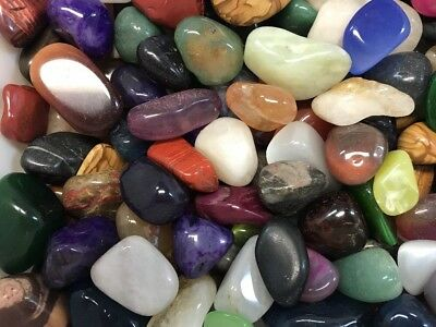 "1kg Bulk Crystal Tumble Stone Mix ""ULTIMATE MIX"" (1 Kilo of Stunning Tumbles) 3"