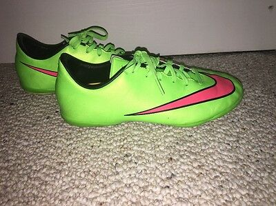 c53a64ac4 ... Nike Jr Mercurial Victory V IC Soccer Shoes 651639 360 ElectricGreen Size  5 2