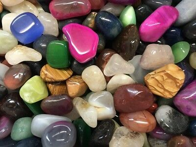 "1kg Bulk Crystal Tumble Stone Mix ""ULTIMATE MIX"" (1 Kilo of Stunning Tumbles) 4"