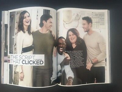 THIS IS US - TV Show on NBC - EMMY Magazine w/Cast on Cover