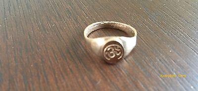 Om Aum Auhm Amulet Ring Copper Hindu Arthritis Stamped Arthritic  Healing Unisex