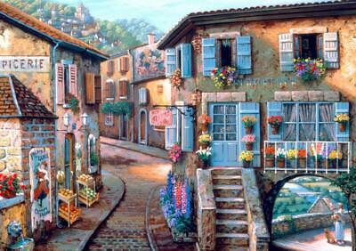 Puzzle Paesaggi Bluebird Villaggi Le Fleuriste 1000 Pz 2