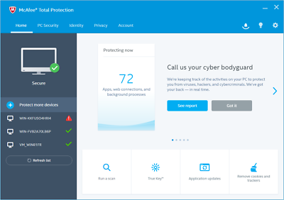 McAfee Total Protection 2019 1 Device 1 Year - *5 Minute Delivery by Email 2