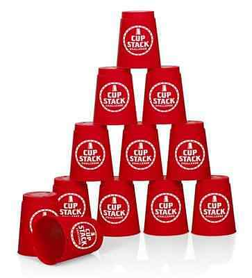 Quick Speed Cup Stack Stacking Challenge Competition Party Game Toy 19611 2