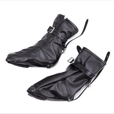 Bondage Shoe Foot Boot Fetisch Fesseln Spielzeug mit Reißverschluss Riemen Fancy 2