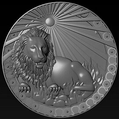 12 Zodiac signs LOT 3D Model STL relief for cnc STL format 4