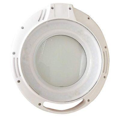 AUBYTEC® HighEnd LED Lupenlampe variabler Weißfarbton+dimmbar für Tattoo Studios