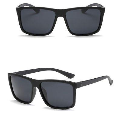 Polarized Mens Sunglasses Polarised New Style Square Frame Glasses Aus Seller