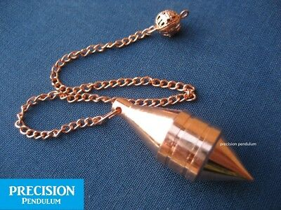 The Sixth Sense Copper Solid Metal Precision Pendulum with Chain Divination 2