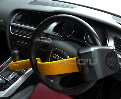 For Audi Car Stoplock Pro Elite Thatcham Approved Anti Theft Steering Wheel Lock 3