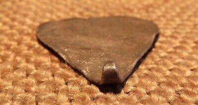 Old Silver Heart Amulet Scythian-Sarmatia 7-3 th Century B.C. ( 2.6 gr ) 7
