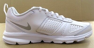 huge selection of 019d3 789af ... 2 of 9 Nike T-Lite XI White Leather Womens Athletic - NWD  - 616696-101