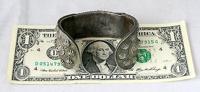 Antique Byzantine Medieval Silver Fertility Folk Art Hand Crafted Bracelet 10