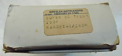New Master-Fit Code 3 #93155 Weksler Water Heaterpart Super Ec Therm 153 Deg. F.