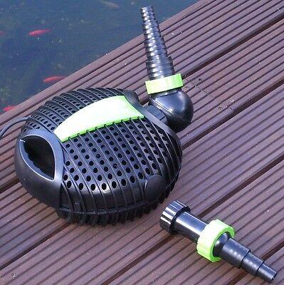 Eco Energiespar Pumpe Teichpumpe Teichfilter Teich Pool Gartenpumpe Skimmer Bach