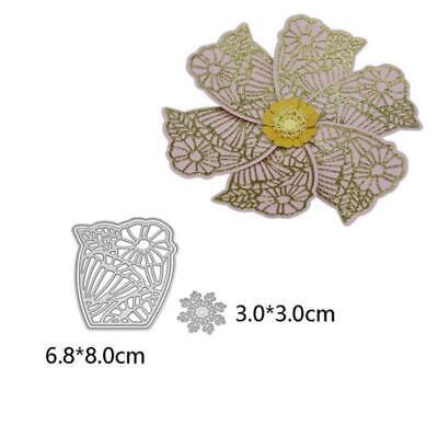 Cutting Dies Flowers Metal Stencil Paper Cards Die Cuts Photo Album Making DIY 10