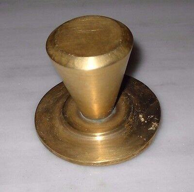 Greece Vintage solid brass door knob handle D9 2