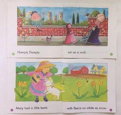 Nursery Rhyme Childrens Books Beginning Readers Lot 12 3