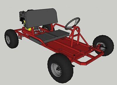 Go Kart Plans: Two Versions PDF Plan Bundle, Go Kart Build: Two Seat Go Kart 5
