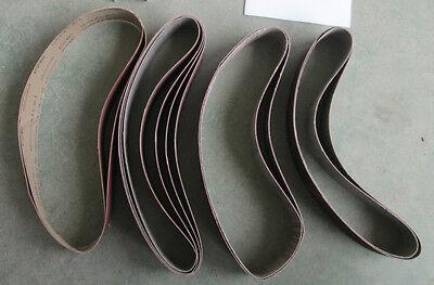 Free 21 Belts 150Mm Bench Grinder Linisher Sanding Grinding Wheel Belt Sander 6