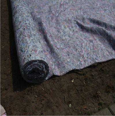 Schatten Unkrautschutz1,1mx100m Rasenmatte Hangbefestigung Böschung Maulwurf u