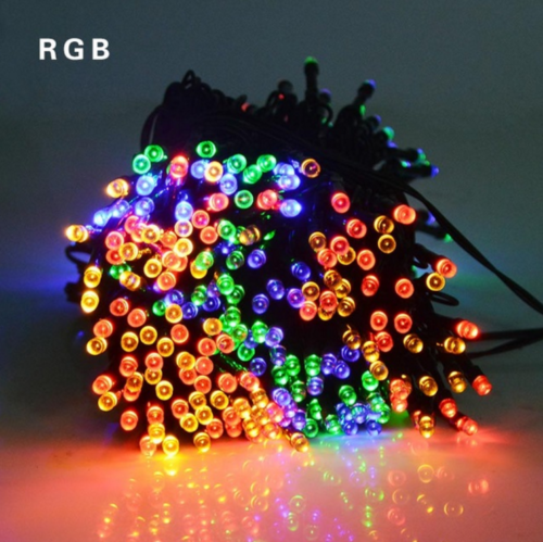 50/100/200 LED Solar Power Fairy Garden Lights String Outdoor Party Wedding Xmas 4