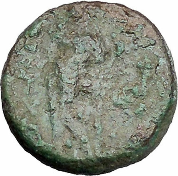 Antiochos III Megas 222BC Apollo Tripod SELEUKID Ancient Greek Coin i47180 2