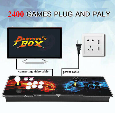 Pandora's Box 1500 in 1 Family Video Games 2 Controller Retro Arcade Console VGA 7