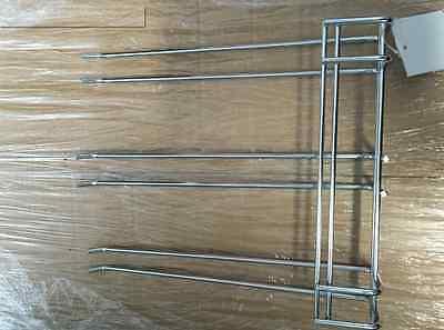 GLASS RACK TRIPLE PRONG Hanger Holder Wine Bar 27cm 270mm PACK OF 3