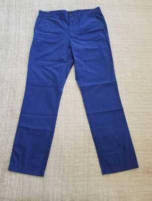 J Crew 770 Men/'s Straight Leg Cargo Pants Garment-dyed Herringbone NEW 34x32