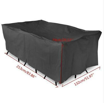 Waterproof Garden Patio Furniture Cover Covers Table Sofa Bench Cube Outdoor UK 2