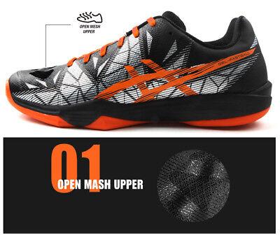 001 3 Gel E712n Asics Shoes Indoor Sport Badminton Racquet Racket Fastball Men's dCrxtshQB