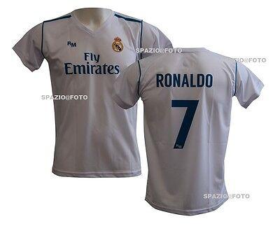 Completo Real Madrid Cristiano Ronaldo 7 Replica Autorizzata ...