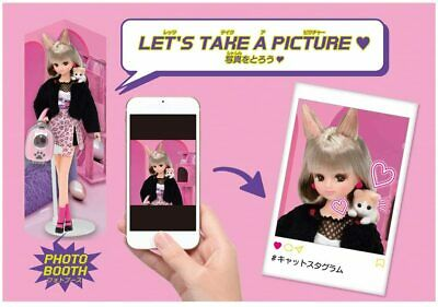 TAKARA TOMY Hashtag Licca Chan Doll # Licca # EMO CAT Rika