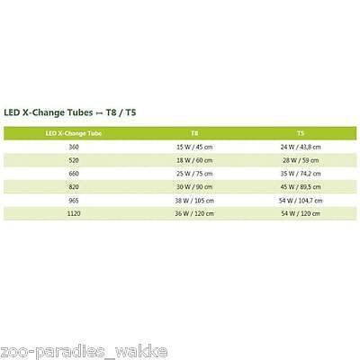 sera LED X-Change Tube plantcolor sunrise- Aquarien Röhrenersatz  diverse Größen 2