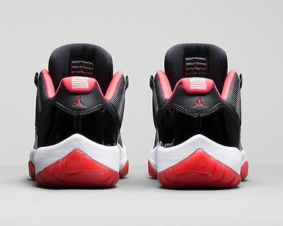 low priced fa31d 629a4 ... Air Jordan 11 XI Retro Low Black Red Bred 2015 528895-012 concord cement  12