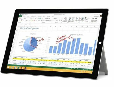 """Microsoft Surface Pro 3 12"""" i7-4650U 256GB 8GB Wins 10 Pro Wi-Fi Tablet#03M 9"""