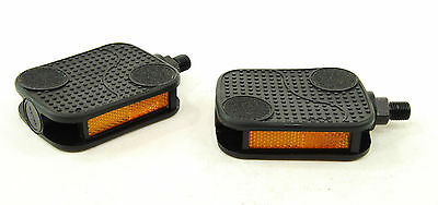 Ultracycle Comfort 1//2/'/' Mountain Bike Platform Pedals Black 1//2/""