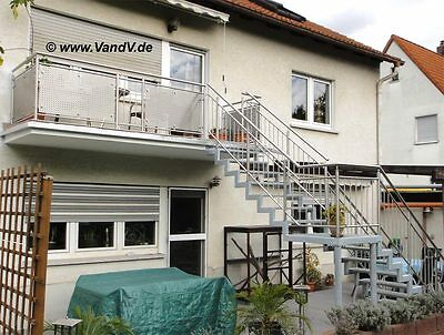 edelstahl balkon gel nder tor vordach zaun nach mass v2a g nstig eur 1 00 picclick de. Black Bedroom Furniture Sets. Home Design Ideas