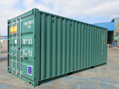 20' New Shipping Container / 20ft One Trip Shipping Container in Miami, FL 5